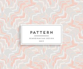 Seamless pattern scandinavian design vector 03