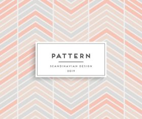 Seamless pattern scandinavian design vector 04