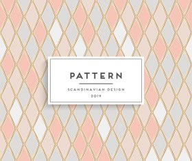 Seamless pattern scandinavian design vector 07