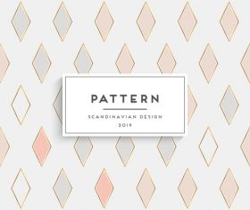 Seamless pattern scandinavian design vector 08