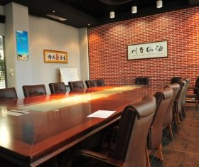 Simple style meeting room Stock Photo 02