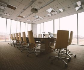 Simple style meeting room Stock Photo 03