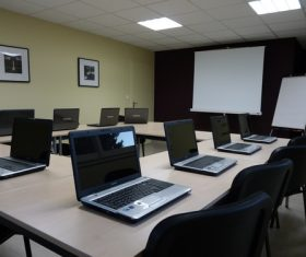 Simple style meeting room Stock Photo 04