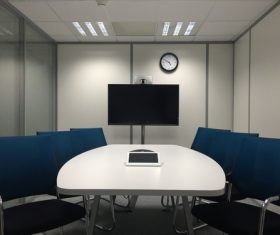 Simple style meeting room Stock Photo 05