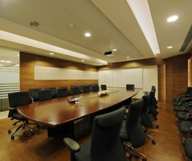 Simple style meeting room Stock Photo 06