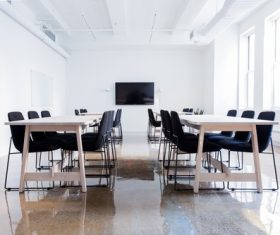 Simple style meeting room Stock Photo 07