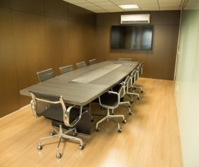 Simple style meeting room Stock Photo 08
