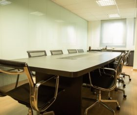 Simple style meeting room Stock Photo 09