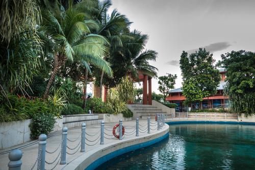 Singapore architectural landscape Stock Photo 02