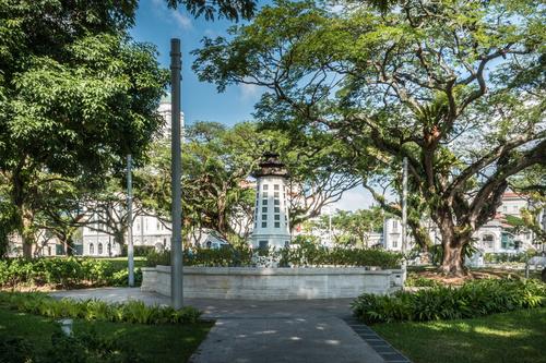 Singapore architectural landscape Stock Photo 07