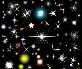 Star lights Photoshop Brushes