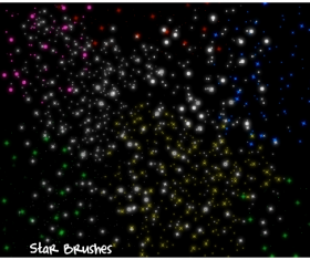 Star sky photoshop brushes