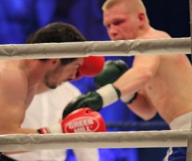 Stock Photo Boxing match 05