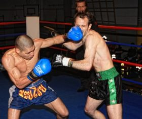 Stock Photo Boxing match 08