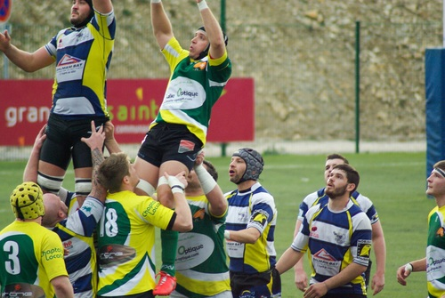 Stock Photo Fight against fierce rugby match 02
