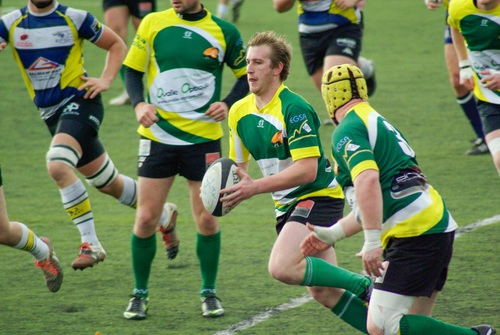 Stock Photo Fight against fierce rugby match 05