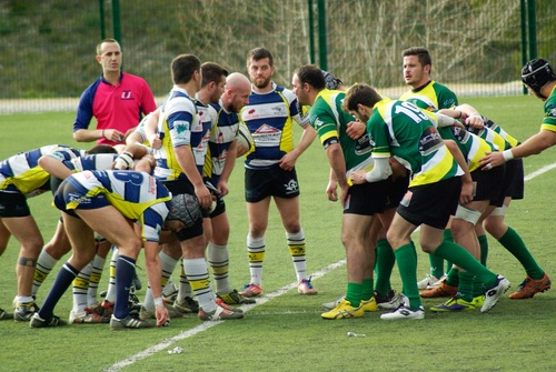 Stock Photo Fight against fierce rugby match 06