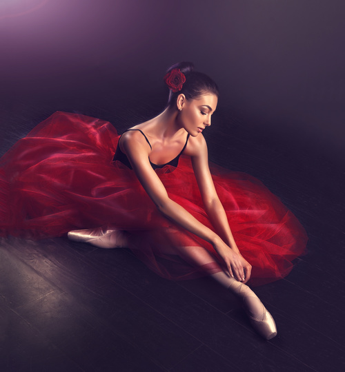 Stock Photo Girl dancing dance 04