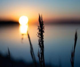 Stock Photo Impressive sunset