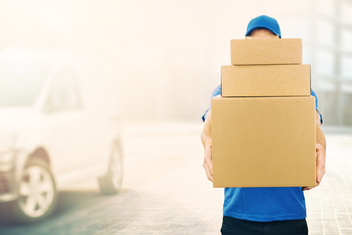 Stock Photo Logistics mail delivery 04