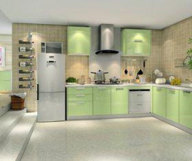 Stock Photo Modern kitchen decoration design 02