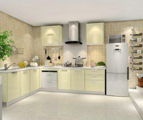 Stock Photo Modern kitchen decoration design 03