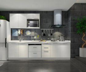 Stock Photo Modern kitchen decoration design 05