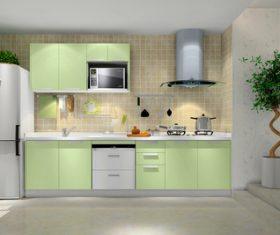 Stock Photo Modern kitchen decoration design 06