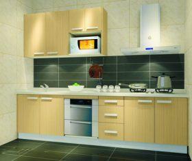 Stock Photo Modern kitchen decoration design 08