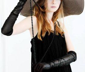 Stock Photo Personality fashion beauty