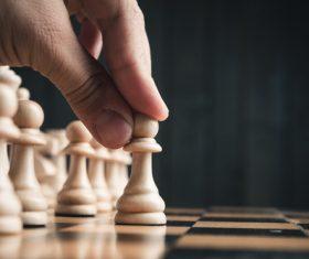 Stock Photo Playing Chess 01