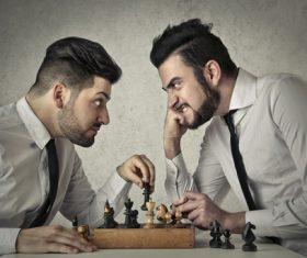 Stock Photo Playing Chess 02