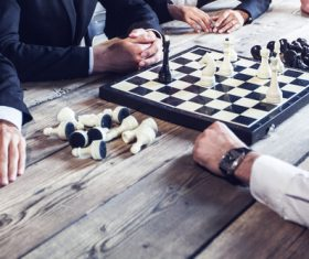 Stock Photo Playing Chess 03