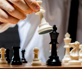 Stock Photo Playing Chess 04