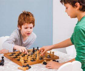 Stock Photo Playing Chess 05