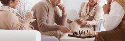 Stock Photo Playing Chess 06