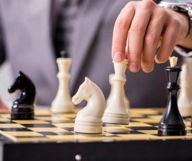 Stock Photo Playing Chess 07
