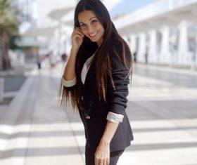 Stock Photo Smiling businesswoman 01