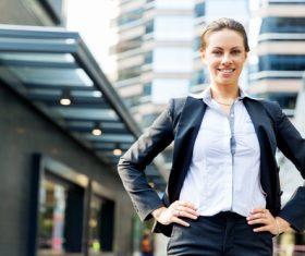 Stock Photo Smiling businesswoman 02