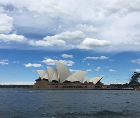 Sydney Opera House from different perspectives Stock Photo 04