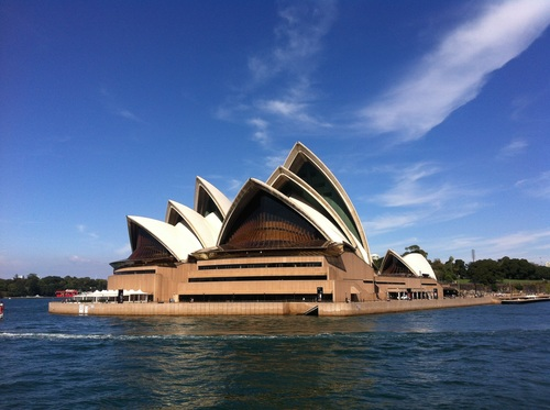 Sydney Opera House from different perspectives Stock Photo 05