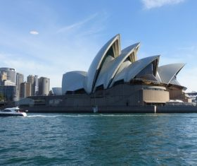 Sydney Opera House from different perspectives Stock Photo 06