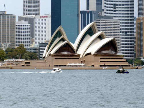 Sydney Opera House from different perspectives Stock Photo 08