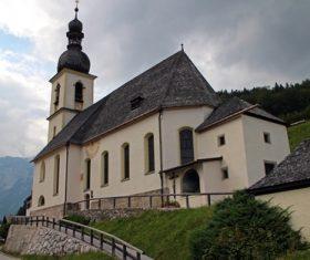 The most beautiful village of Ramsau Germany Stock Photo 05