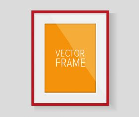 Vector photo frame material 05