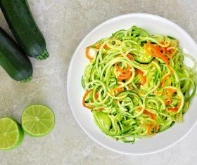 Vegetable pasta Stock Photo 01