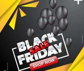 black friday special sale poster vector template 09