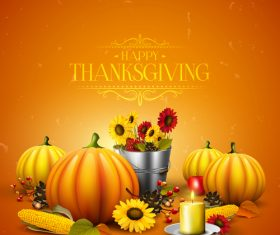thanksgiving festvial design vector material 03