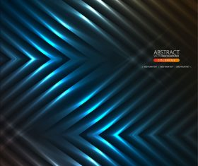 Abstract dark blue business background vector