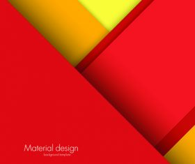 Abstract material design background template vector 01